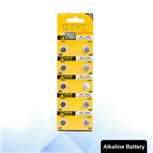 10 PCS AG3 / 392A 1.55V Alkaline Button Battery S-LIB-0304
