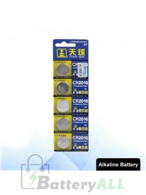 5 PCS CR2016 3V Lithium Button Battery S-LIB-0307
