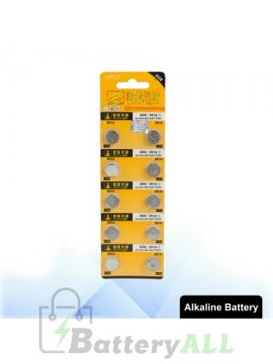 10 PCS AG8 / 391A 1.55V Alkaline Button Battery S-LIB-0314