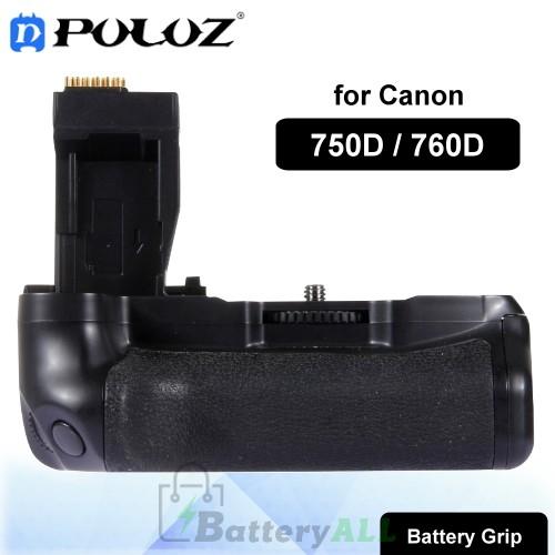 PULUZ Vertical Camera Battery Grip for Canon 750D / 760D Digital SLR Camera PU2506