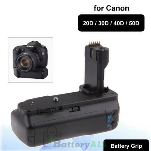 BG-1C Vertical Camera Battery Grip for Canon 20D / 30D / 40D / 50D S-DBG-0105A