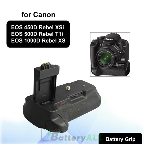 Camera Battery Grip for Canon 450D / 500D / 1000D with Two Battery Holder S-DBG-0106