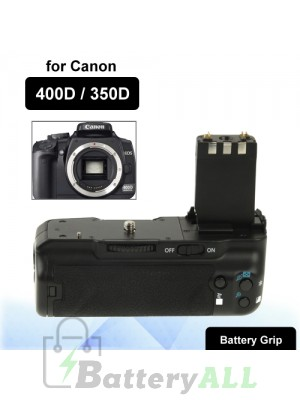 Camera Battery Grip for Canon 400D 350D XT/Xti with One Battery Holder S-DBG-0117