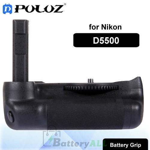 PULUZ Vertical Camera Battery Grip for Nikon D5500 Digital SLR Camera PU2502