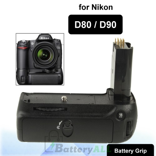Camera Battery Grip for Nikon D80 D90 S-DBG-0115
