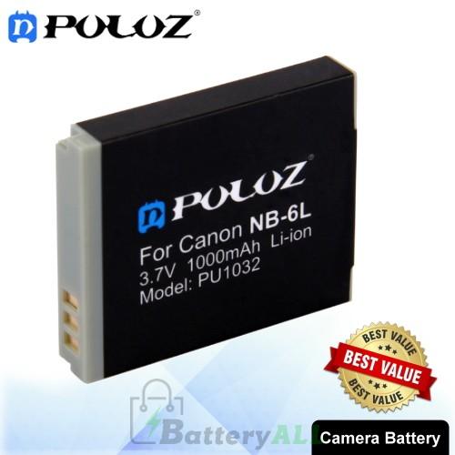 PULUZ NB-6L 3.7V 1000mAh Camera Battery for Canon IXUS 85/95 D10 PU1032