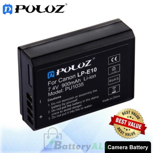 PULUZ LP-E10 7.4V 900mAh Camera Battery for Canon EOS Rebel T3 / Rebel T5 / Kiss X50 / EOS 1100D PU1035
