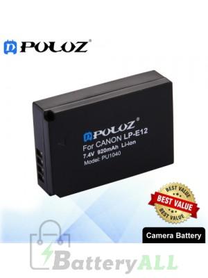 PULUZ LP-E12 7.4V 920mAh Camera Battery for Canon EOS M / EOS M2 / EOS 100D PU1040