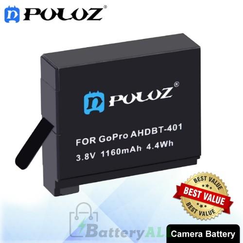 PULUZ AHDBT-401 3.8V 1160mAh Battery for GoPro HERO4 PU36B