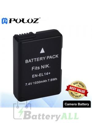 PULUZ EN-EL14 7.4V 800mAh Camera Battery for Nikon COOLPIX P7000 P7100 D3100 D3200 D5100 PU1012