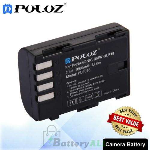PULUZ DMW-BLF19 7.4V 1860mAh Camera Battery for Panasonic Lumix DMC-GH3 / GH3A / GH3AGK / GH3GK / GH3H / GH3HGK / GH4 / GH4H PU1038