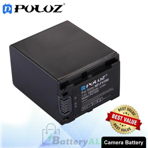 PULUZ NP-FV100 7.2V 3900mAh Camera Battery for Sony HDR-CX680 / HDR-CX450 / HDR-CX900E / HDR-CX150E / HDR-CX170 / HDR-CX370 PU1028
