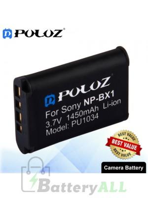 PULUZ NP-BX1 3.7V 1450mAh Camera Battery for Sony DSC-HX350 / DSC-RX100M5 / DSC-RX100 / DSC-RX1 / DSC-HX50 PU1034