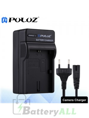 PULUZ Camera Battery Charger with Cable for Canon LP-E6 Battery PU2208