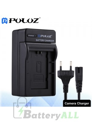 PULUZ Camera Battery Charger with Cable for Canon BP718 / BP727 Battery PU2214
