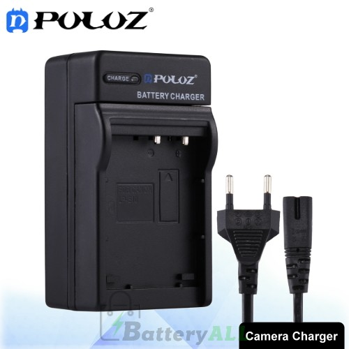PULUZ Camera Battery Charger with Cable for Casio CNP130 Battery PU2212