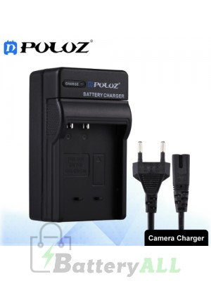 PULUZ Camera Battery Charger with Cable for Casio CNP120 Battery PU2228