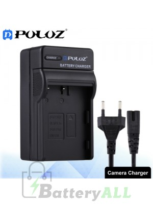 PULUZ EU Plug Battery Charger for Nikon EN-EL3 / EN-EL3e / FUJI FNP150 Battery PU2202