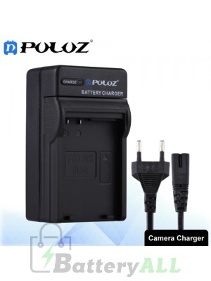 PULUZ Camera Battery Charger with Cable for Nikon EN-EL14 Battery PU2205