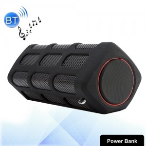 S772 2 in 1 10W Life Waterproof Portable Bluetooth Stereo Speaker + 5200mAh Power Bank MS0813B