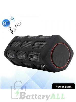 S772 2 in 1 10W Life Waterproof Portable Bluetooth Stereo Speaker + 5200mAh Power Bank MS0813B