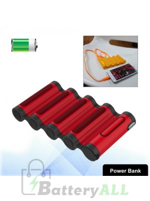 Cager B18 Portable 10400mAh Smart Li-ion Power bank (Red) S-IP5G-0488