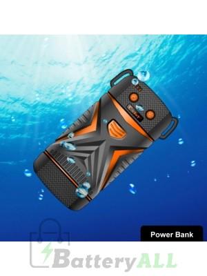 Cager WP11 High-Capacity 5600mAh Portable Outdoor Waterproof Power Bank Waterproof grade: IP67(Orange) S-IP5G-1511E