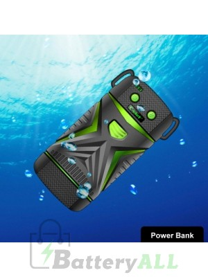 Cager WP11 High-Capacity 5600mAh Portable Outdoor Waterproof Power Bank Waterproof grade: IP67(Green) S-IP5G-1511G