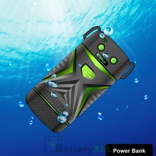 Cager WP11 High-Capacity 5600mAh Portable Outdoor Waterproof Power Bank Waterproof grade: IP67(Green) S-IP5G-1511G