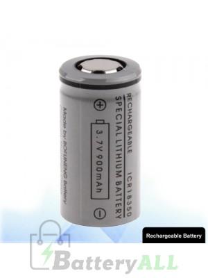 ICR 18350 900mAh 3.7V Rechargeable Li-ion Battery for E-cigarette S-LIB-0020