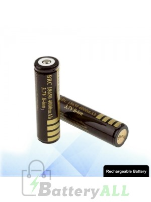 2 PCS UltraFire 18650 4000mAh Long Lasting Rechargeable Lithium ion Battery with Circuit Protection S-LIB-0219