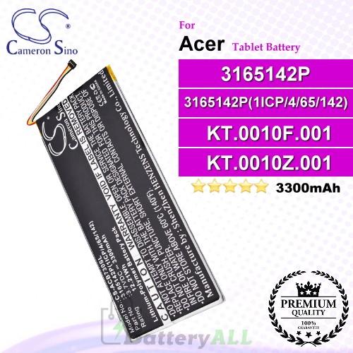 CS-ACB730SL For Acer Tablet Battery Model 3165142P / 3165142P(1ICP/4/65/142) / KT.0010F.001 / KT.0010Z.001 / MLP2964137