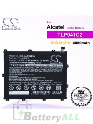 CS-ALP320SL For Alcatel Tablet Battery Model TLp041C2 / TLp041CC
