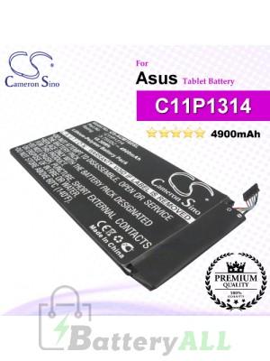 CS-AUM102SL For Asus Tablet Battery Model C11P1314