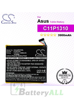 CS-AUP372SL For Asus Tablet Battery Model C11P1310