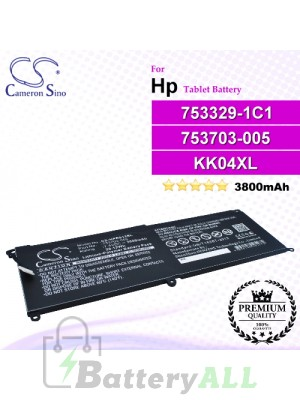 CS-HPR612SL For HP Tablet Battery Model 753329-1C1 / 753703-005 / 775691-001 / HSTNN-IB6E / HSTNN-UB6E / KK04XL