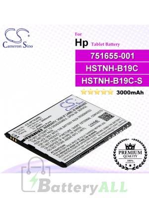 CS-HPT630SL For HP Tablet Battery Model 751655-001 / HSTNH-B19C / HSTNH-B19C-S