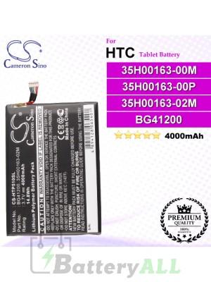 CS-HTP510SL For HTC Tablet Battery Model BG41200 / 35H00163-00M / 35H00163-02M / 35H00163-00P