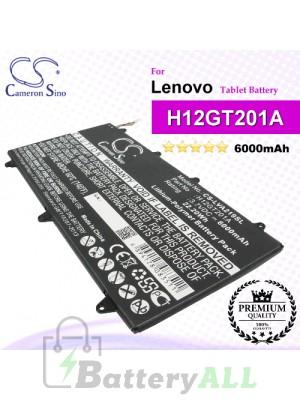 CS-LVA219SL For Lenovo Tablet Battery Model H12GT201A