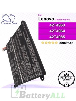 CS-LVP183SL For Lenovo Tablet Battery Model 42T4963 / 42T4964 / 42T4965 / 42T4966 / 42T4985