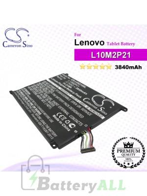 CS-LVS210SL For Lenovo Tablet Battery Model 1ICP04/45/107-2 / L10M2P21 / L10M2P22