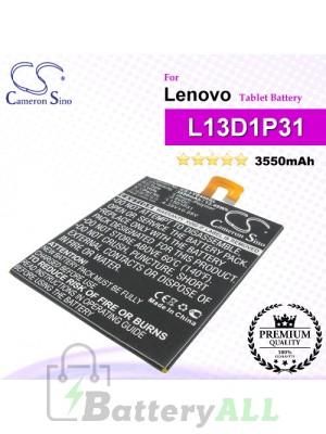 CS-LVS500SL For Lenovo Tablet Battery Model L13D1P31