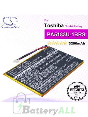 CS-TRE700SL For Toshiba Tablet Battery Model PA5183U-1BRS